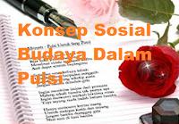 Pengertian Konsep Sosial dan Budaya dalam Puisi