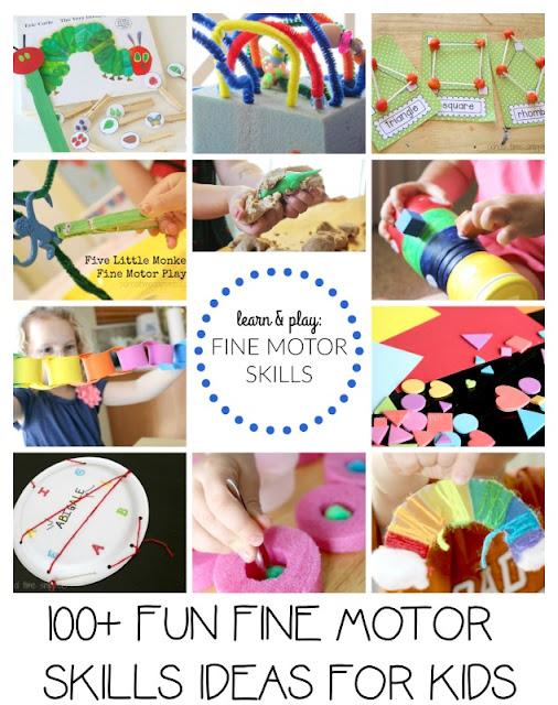 fine motor skills for kids