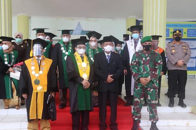 Wagub Abdullah Sani Berharap Wisudawan/Wati Bisa Mandiri Secara Ekonomi