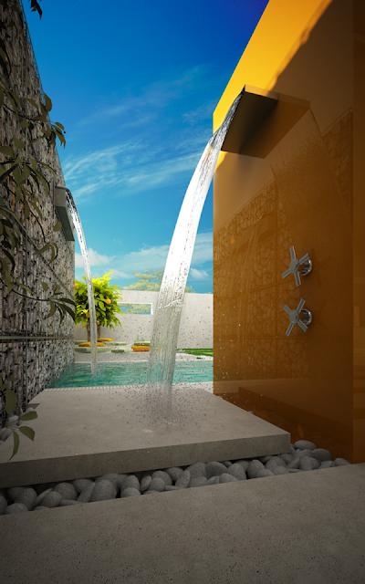 backyard outdoor shower ideas everything about garden. Black Bedroom Furniture Sets. Home Design Ideas