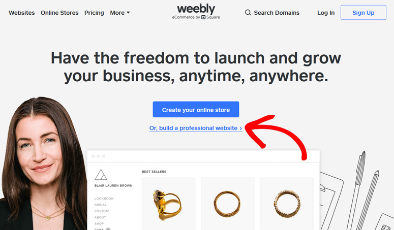 Memulai dengan Weebly