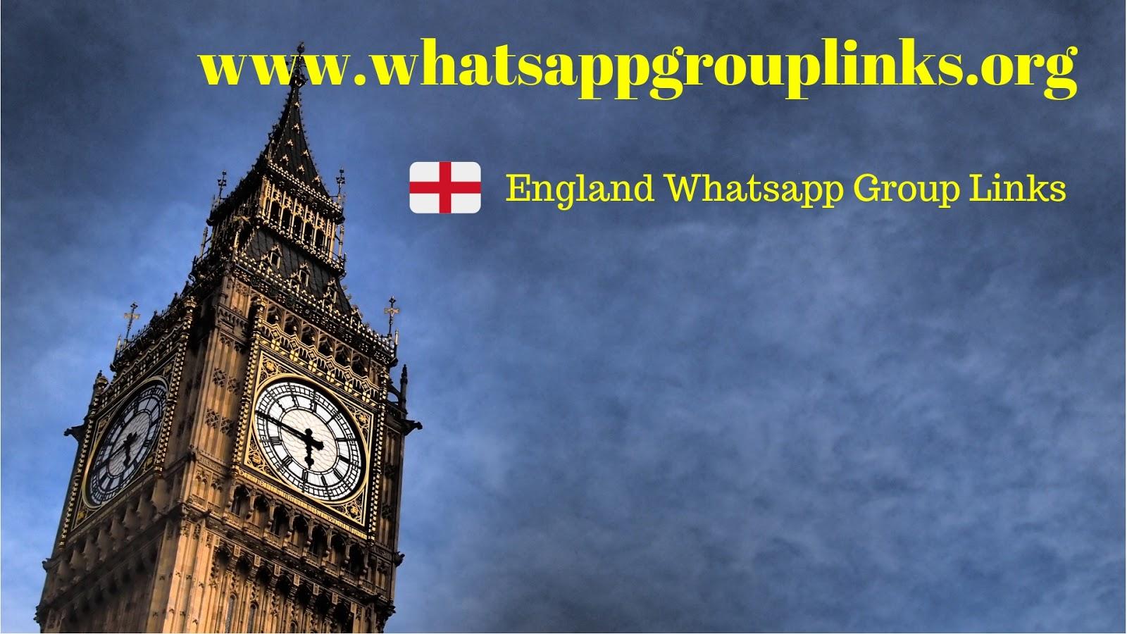 England Whatsapp Group Links - Whatsapp Group Links