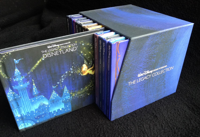 the disneyland records blog  walt disney legacy collection