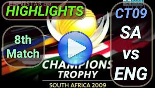 SA vs ENG 8th Match