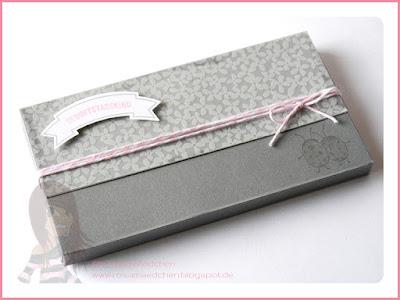 Stampin' Up! rosa Mädchen Kulmbach: Stamp A(r)ttack Blog Hop Geschenke verpacken: Time Out Pass in Geschenkschachtel mit Love you lots und Bannerweise Grüße