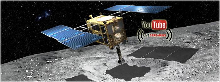 pouso da sonda hayabusa2 no asteroide ryugu
