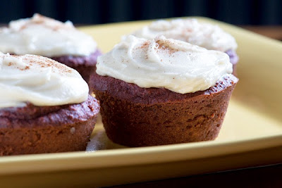 Almond Flour Red Velvet Cupcakes | In The Kitchen With