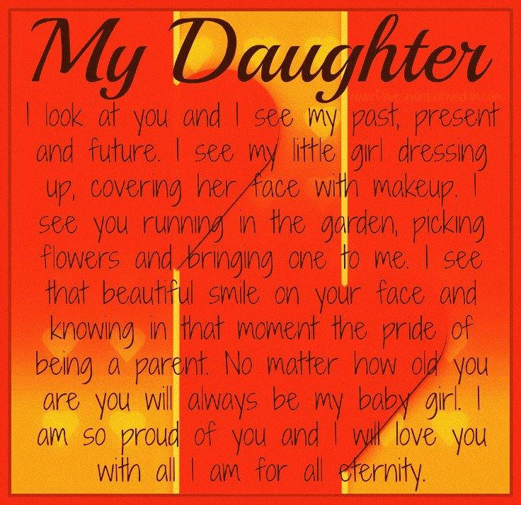 Proud Of My Daughter Quotes. QuotesGram I Am Proud Of My Daughter Quotes