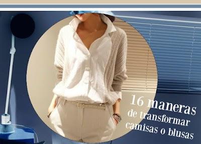 16 maneras de transformar una blusa o camisa
