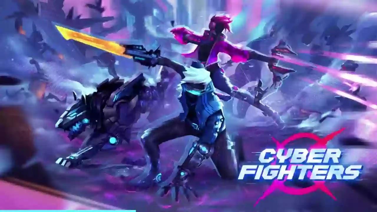Cyber Fighters - مزيج من أنواع ألعاب تقمص الأدوار وحركة التمرير الجانبي في بيئة مستقبلية.