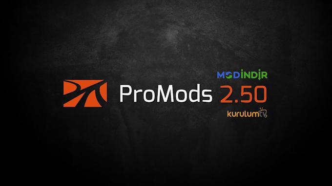 ETS 2 - Promods v2.50 Harita Modu İndir