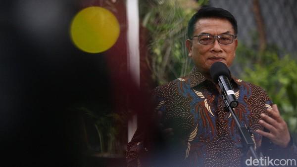 Moeldoko Bicara Sosok SBY di Tengah Isu 'Kudeta'