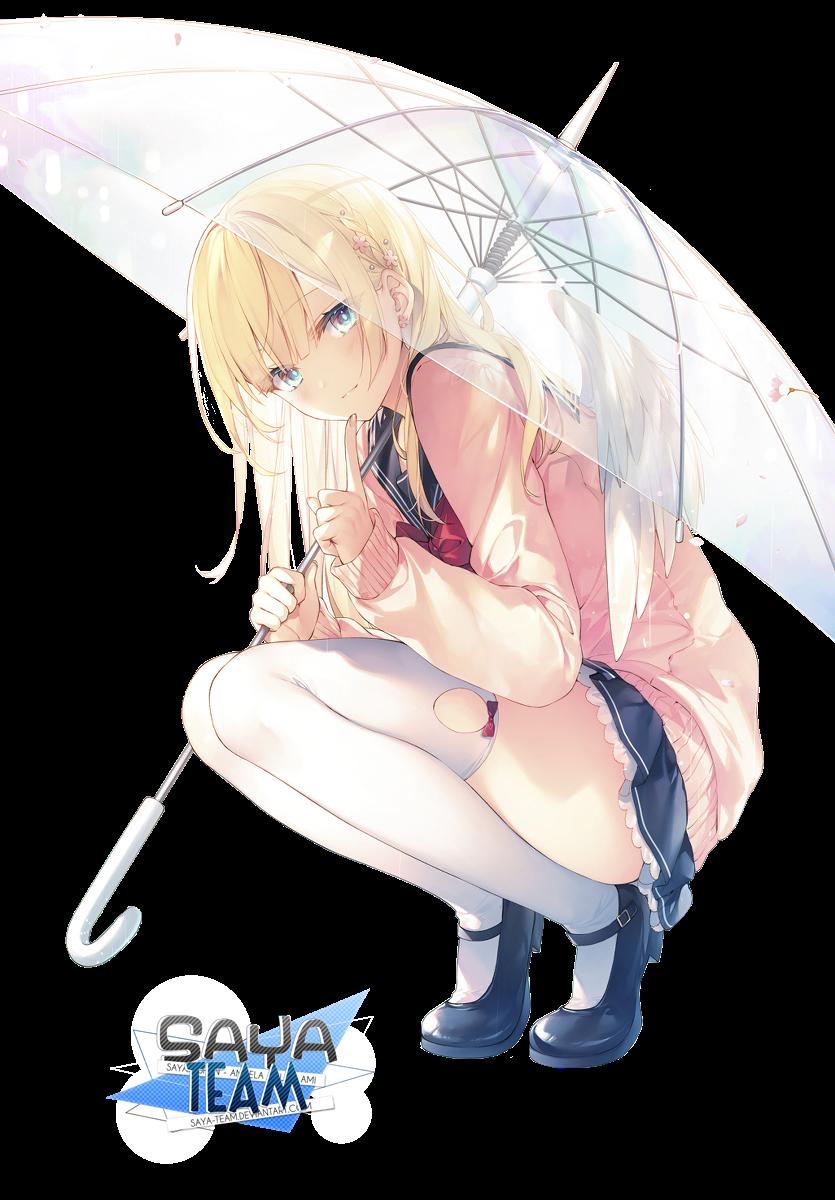 [Nao] Anime Girl Render SAYA-Team's