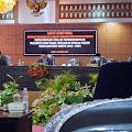 Dewan Laksanakan Paripurna Pengumuman Usulan Pemberhentian Wako-Wawako 2016-2021