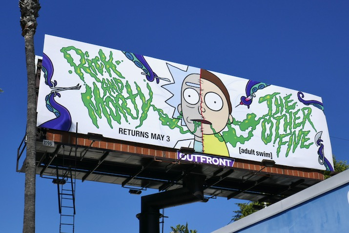 Rick and Morty season 4 other five billboard