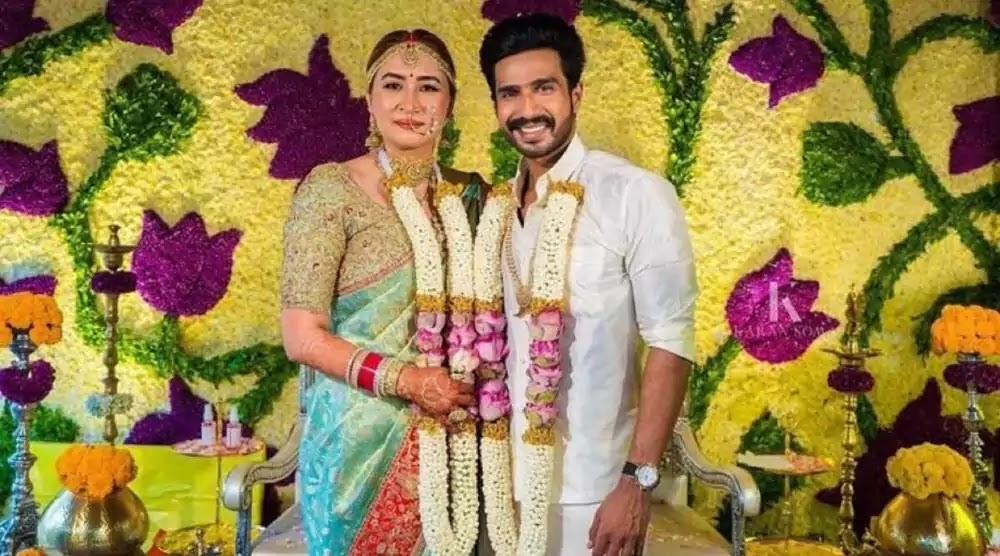 Actor Vishnu Vishal and badminton player Jwala Gutta Marriage Photo