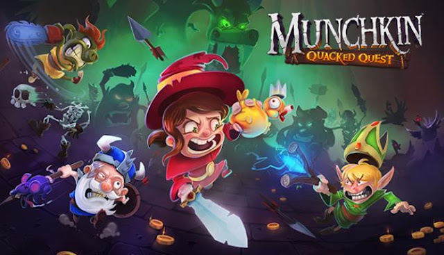 Munchkin Quacked Quest is a cartoon role-playing project, an action game in which you have to immerse yourself in the universe of a famous board game and fight against numerous enemies in the dungeons