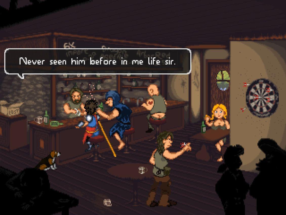 Indie Retro News: Guard Duty - A charming 2D fantasy