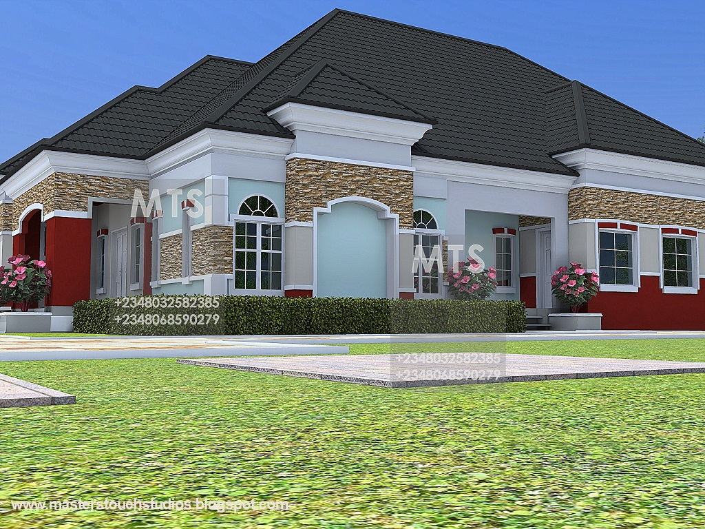 6 bedroom bungalow house plans in nigeria modern house for In home designs