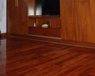 Sàn gỗ tự nhiên là sản phẩm có tính thẩm mỹ cao