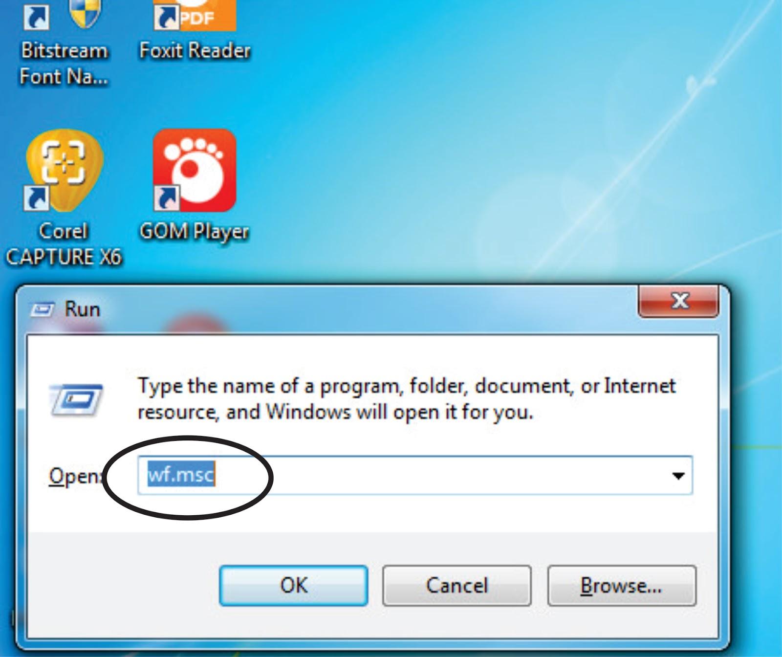 Cara Mudah Blokir Aplikasi dengan Windows Firewall - Pejuangmuda45