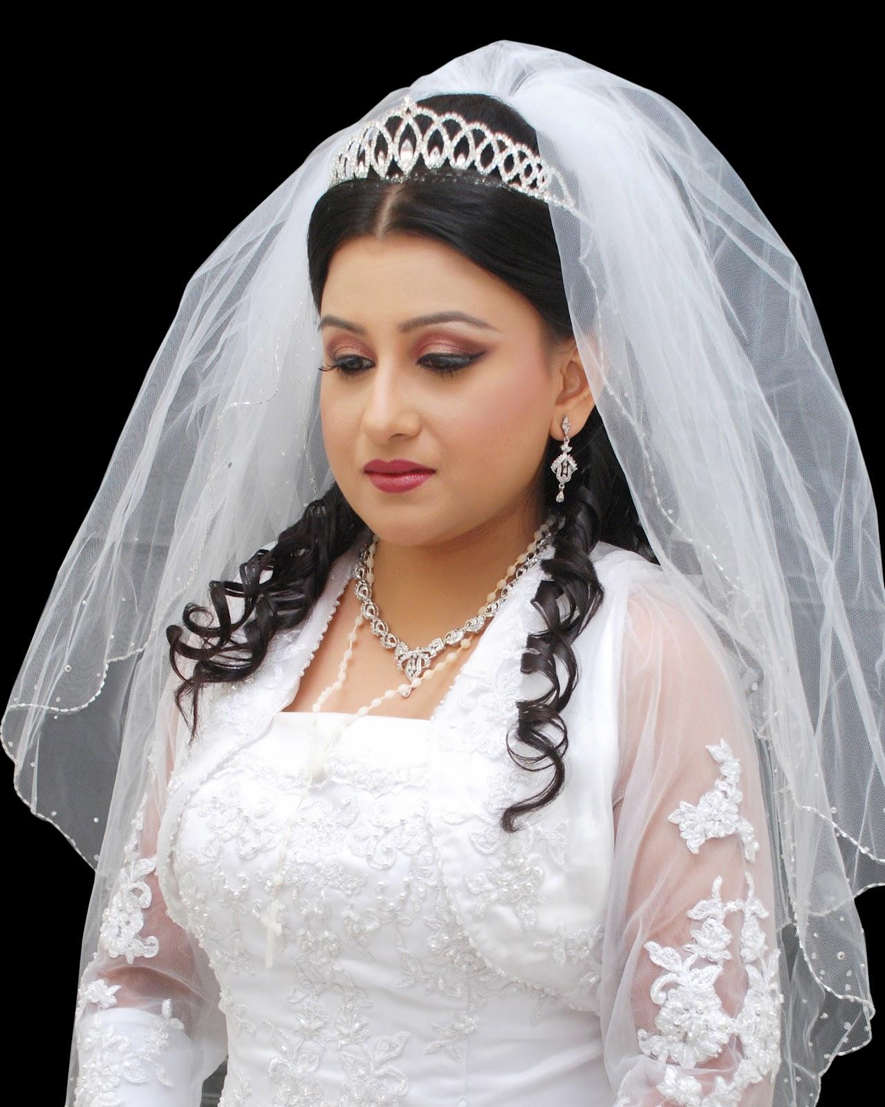 Christian Bridal Hairstyle: Preeti's Ada: Christian Bridal Makeup