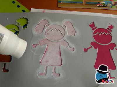 colore acrilico per tamponare stencil