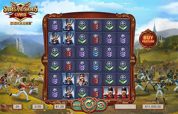 Main Gratis Slot Indonesia - Sabres And Swords Charge Gigablox Yggdrasil