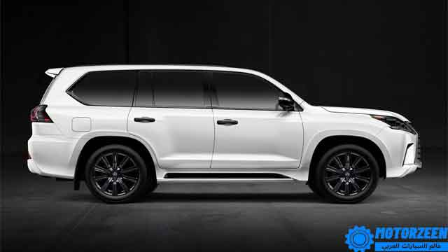 التصميم الخارجي لسيارة لكزس LX 2021