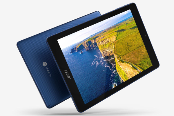 Acer's Chromebook Tab 10 (D651N) is the World's first Chrome OS tablet for Education