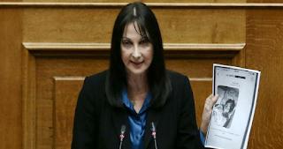 Ελενα Κουντουρά: Αν συμβεί κάτι σε εμένα ή τα παιδιά μου θα φταίει ο Αδωνις Γεωργιάδης