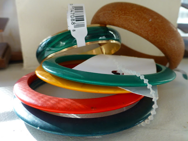 bangles bought at savers