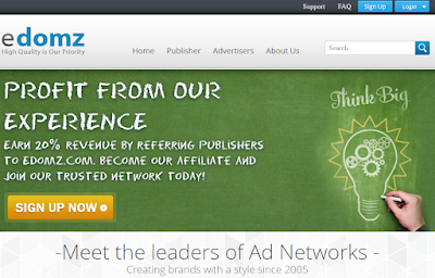 eDomz Review– CPM/Pop-under Ad Network