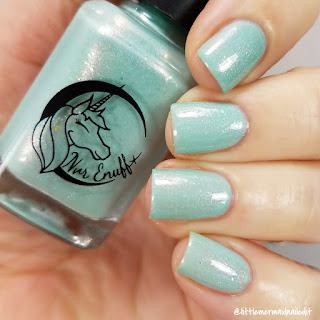 Nvr Enuff Polish Shell Bra Swatches and Review
