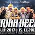 להקת אוריה היפ בישראל - נובמבר 2017