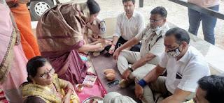 भाजपा महिला मोर्चा ने रक्षा बंधन पर्व मनाया