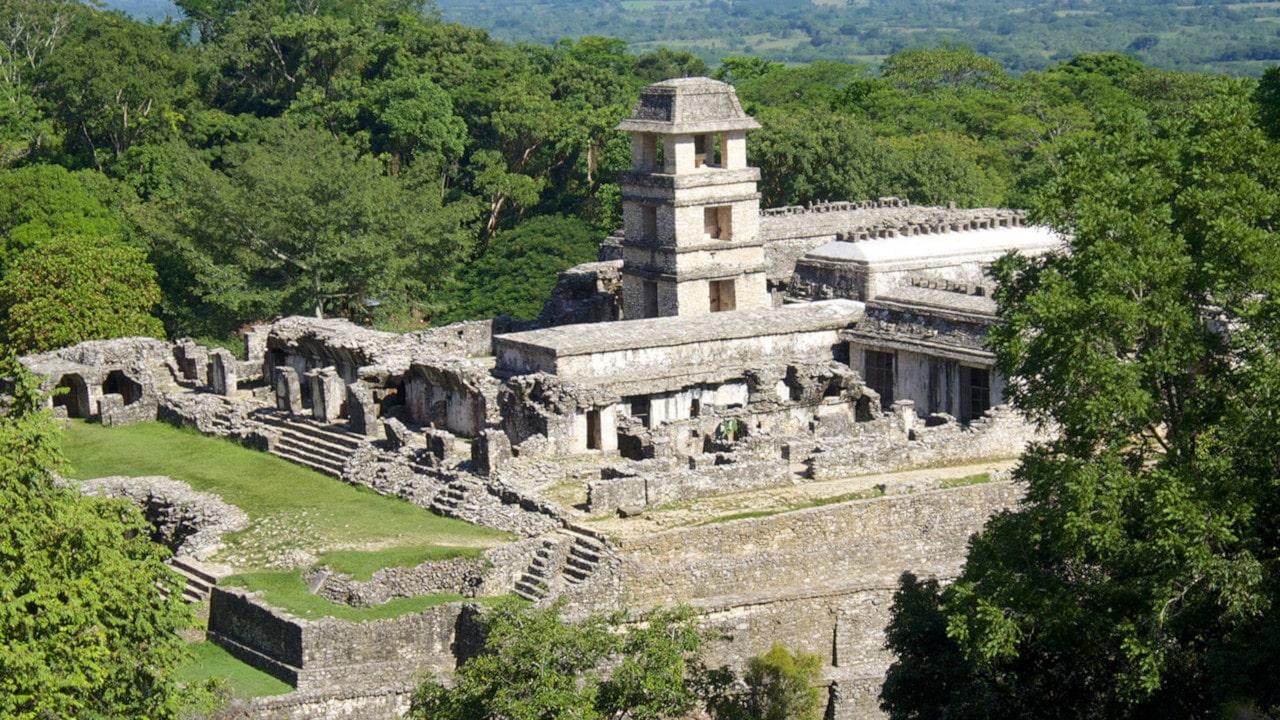 arquitectura maya ejemplos