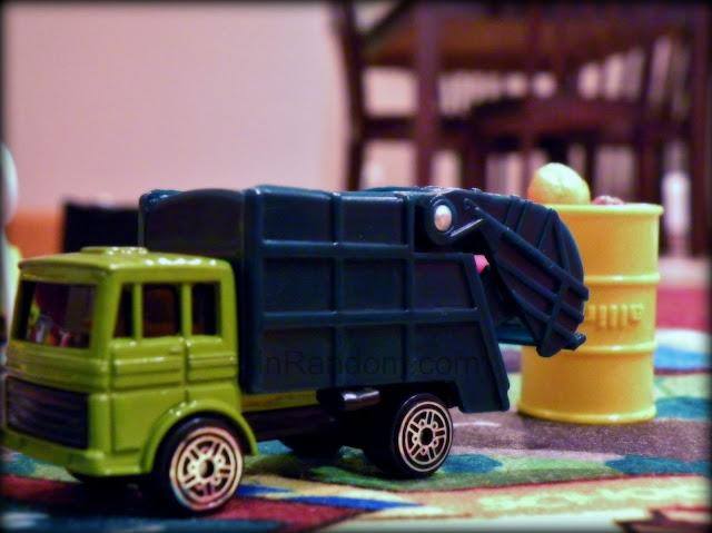 Garbage Truck Hotwheel