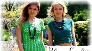 Patrones de Blusas para Nosotras para Tejer a Crochet
