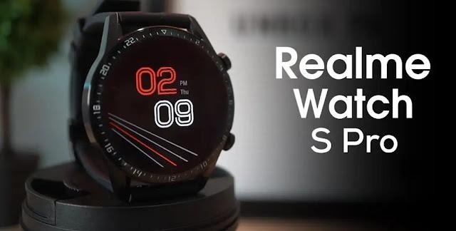 ساعة ريلمي ووتش اس برو Realme Watch S Pro