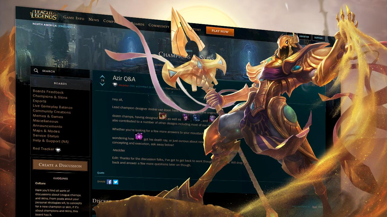 Surrender at 20: Red Post Collection: Azir Q&A Roundup, Ascension