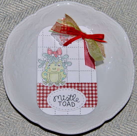 Mistle Toad by Christine features Mistle Toad by Newton's Nook Designs; #newtonsnook