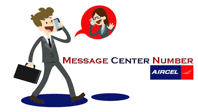 aircel message center number