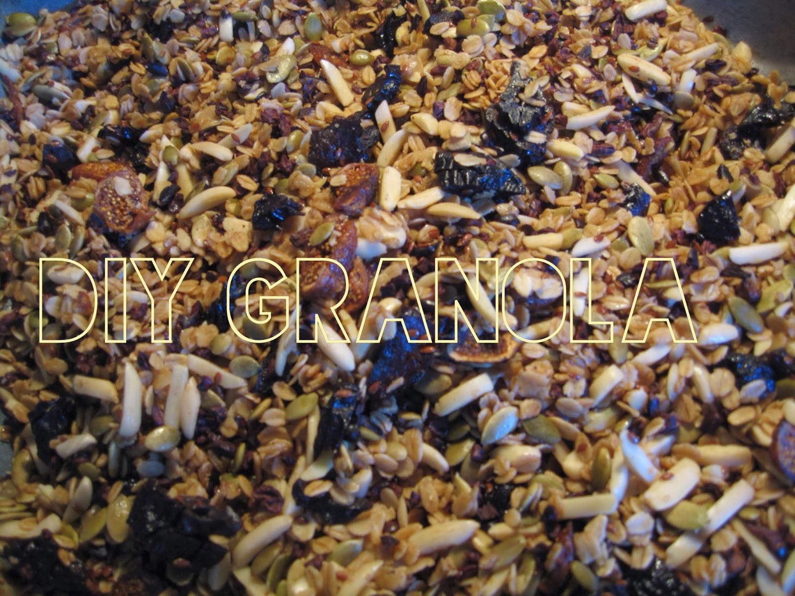 DIY granola recipe, eating fabulously, christopher stewart