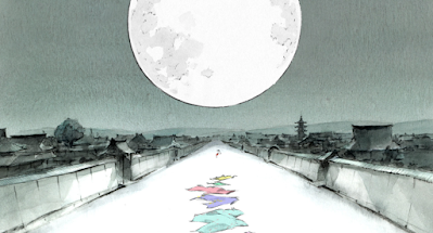 Ghibli Blog - The Tale of the Princess Kaguya (photos)