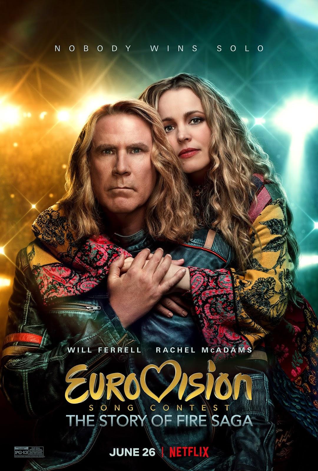eurowizja historia zespołu fire saga film netflix ferrell mcadams brosnan