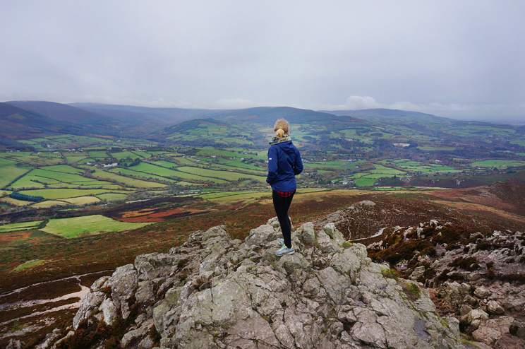 A happy blogger on top of the Sugarloaf Mountain