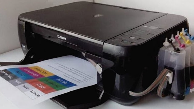 Reset Printer Canon MP287 Menggunakan Service Tool