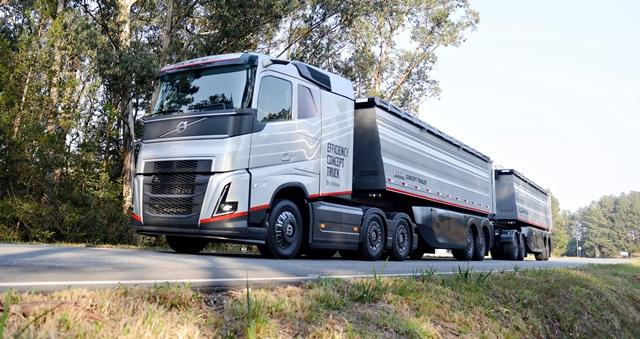 Continental equipa Volvo Efficiency Concept Truck com pneus Conti Light Pro e solução digital para monitorar pressão e temperatura em tempo real