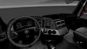 Black & Pearl interior skin for Mercedes Actros 2009